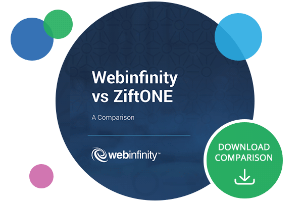 Download the Webinfinity vs ZiftONE Comparison