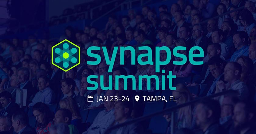 Join us at the Synapse Innovation Summit 2019